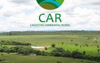 Prorrogado prazo para o Cadastro Ambiental Rural