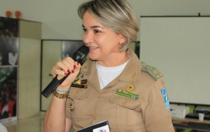 Major Elizete Lima da PM-PI, lança coluna no Fort Notícias.