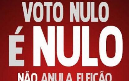 Coluna Major Elizete – Votar branco ou nulo é o melhor protesto?