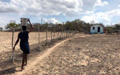 No Piauí, 87 cidades estão sem água para o consumo humano.