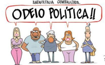 """Coluna Major Elizete – """"Não Gosto de Política"""""""